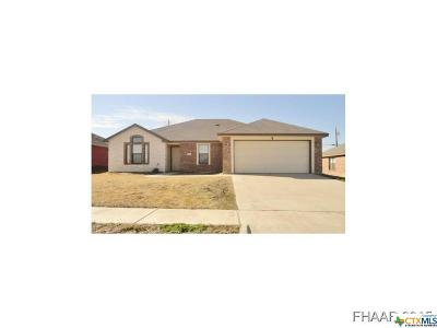 Killeen Single Family Home For Sale: 3806 Foxglove Lane