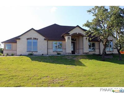 Copperas Cove Single Family Home For Sale: 273 Skyline Drive