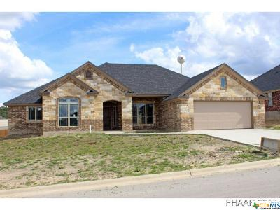 Harker Heights Single Family Home For Sale: 2526 Faux Pine Drive
