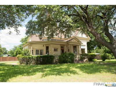 Lampasas Single Family Home For Sale: 606 Key Avenue