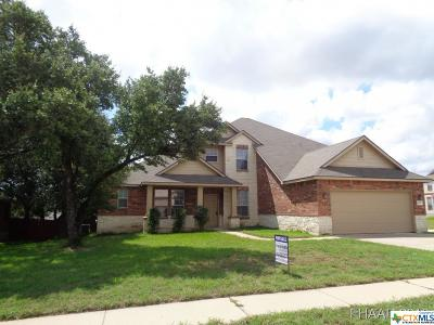 Killeen Single Family Home For Sale: 4900 Smoky Quartz Drive