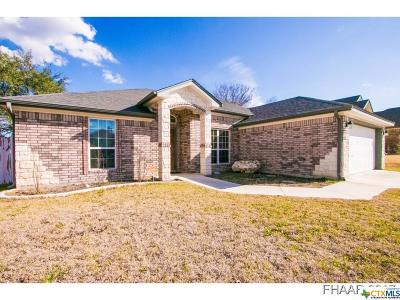 Copperas Cove Single Family Home For Sale: 2536 Mugho Drive