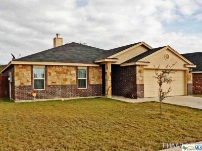 Copperas Cove Single Family Home For Sale: 2531 Heartland Avenue