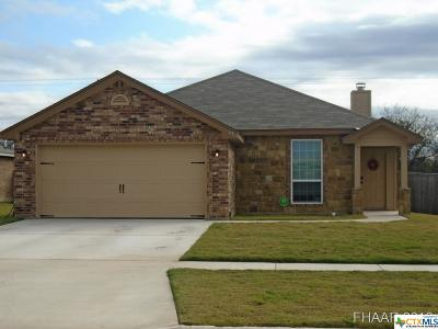 Killeen TX Single Family Home For Sale: $138,000