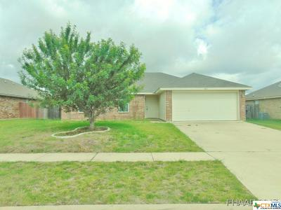 Killeen TX Single Family Home For Sale: $102,900