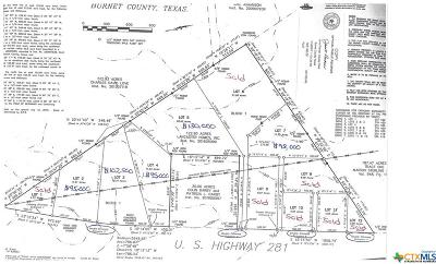 Lampasas Residential Lots & Land For Sale: 11.5acres Hwy 281