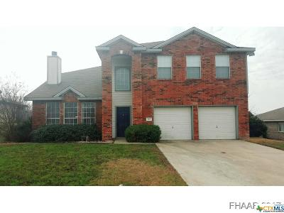 Harker Heights Single Family Home For Sale: 104 Quapaw Drive