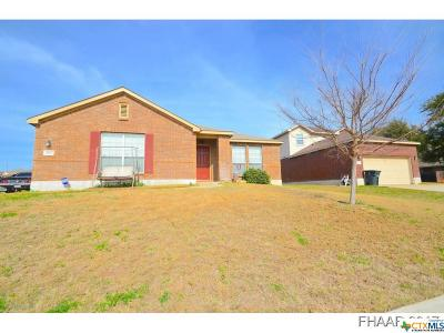 Killeen TX Single Family Home For Sale: $185,000
