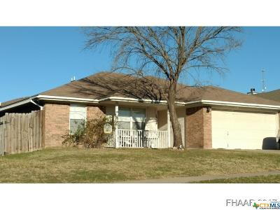 Copperas Cove Single Family Home For Sale: 1304 Dekort Circle