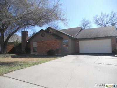 Harker Heights Single Family Home For Sale: 1802 Fox Trail