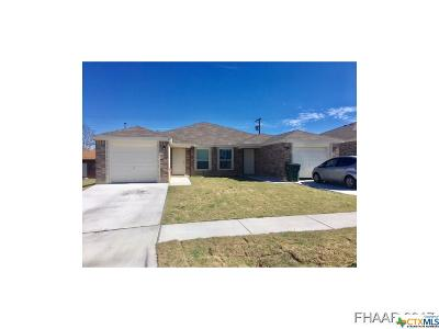 Copperas Cove Multi Family Home For Sale: 217 Gibson Street