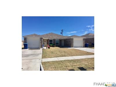 Copperas Cove Multi Family Home For Sale: 221 Gibson Street