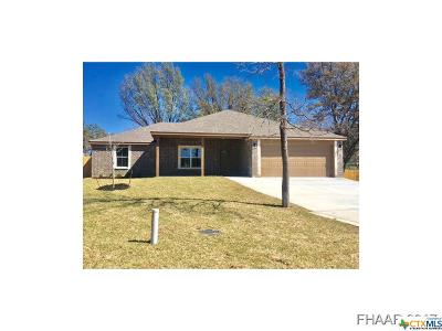 Harker Heights Single Family Home For Sale: 1806 Willowwood Circle