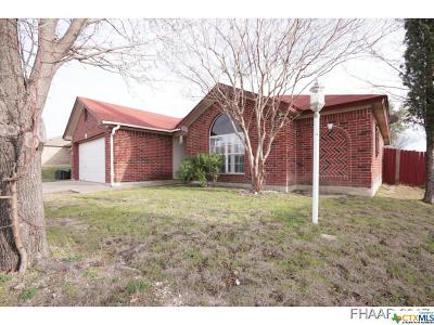 Killeen Single Family Home For Sale: 4202 Breckenridge Drive