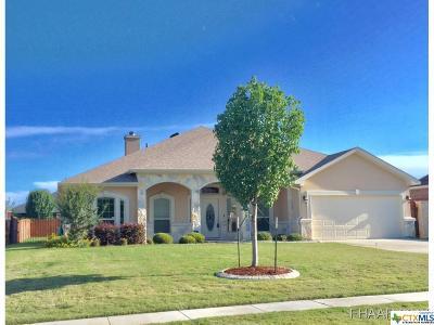 Killeen Single Family Home For Sale: 5621 Tourmaline Drive