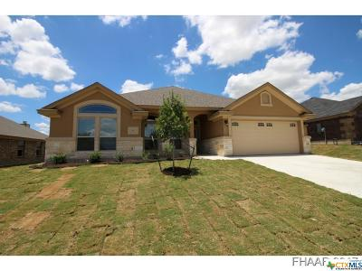 Killeen Single Family Home For Sale: 7607 Zircon Drive