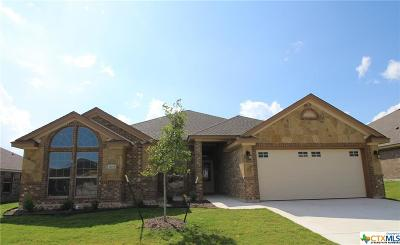 Killeen Single Family Home For Sale: 7609 Zircon Drive