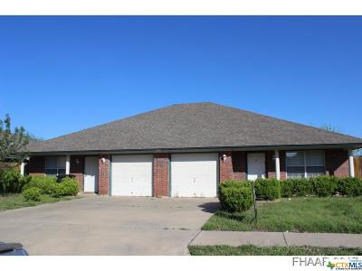 Killeen TX Multi Family Home For Sale: $159,900