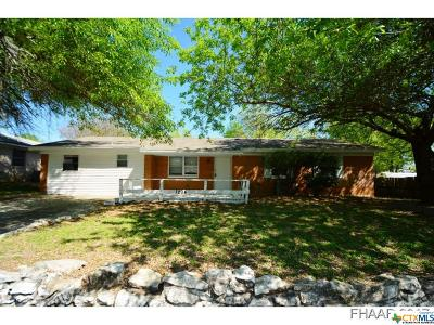 Copperas Cove Single Family Home For Sale: 1204 Curry Avenue