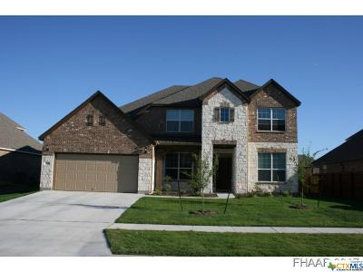 Killeen TX Single Family Home For Sale: $325,590