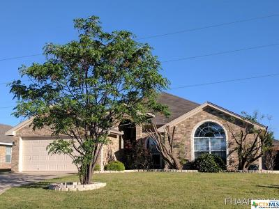 Harker Heights Single Family Home For Sale: 332 Canoe Drive