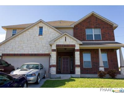 Killeen Single Family Home For Sale: 5907 Siltstone Loop