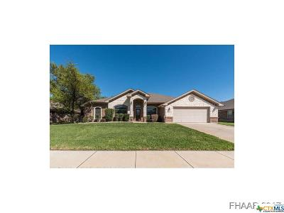 Killeen Single Family Home For Sale: 6207 Marble Falls Drive
