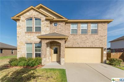 Copperas Cove Single Family Home For Sale: 2305 Vernice Drive