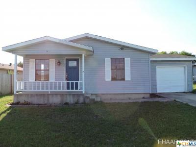 Killeen TX Single Family Home For Sale: $82,500