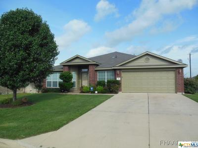 Harker Heights Single Family Home For Sale: 411 Cattail Circle