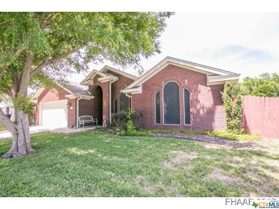 Killeen TX Single Family Home For Sale: $140,900