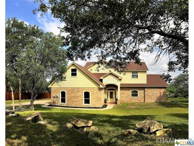 Belton Single Family Home For Sale: 5475 Denmans Mountain Road