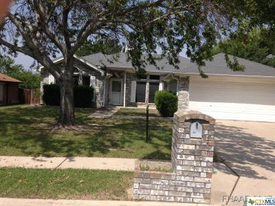 Copperas Cove Single Family Home For Sale: 803 Barber Drive