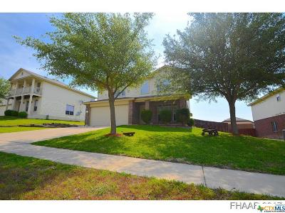 Copperas Cove Single Family Home For Sale: 2204 Vernice Drive