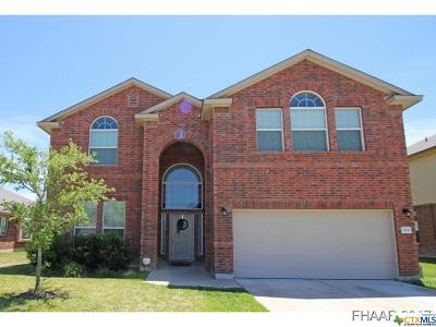 Killeen Single Family Home For Sale: 3304 Cricklewood Drive
