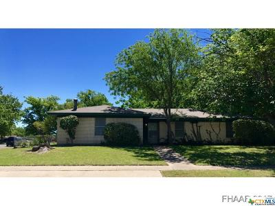 Copperas Cove Single Family Home For Sale: 105 Carothers Street