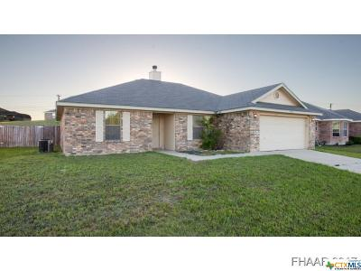 Copperas Cove Single Family Home For Sale: 2003 Matt Drive