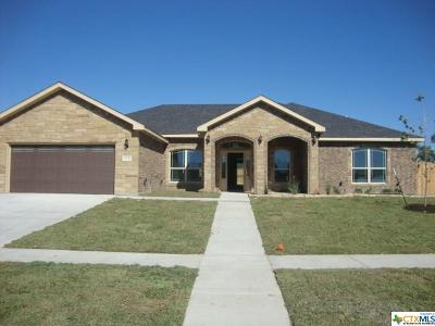 Killeen Single Family Home For Sale: 7708 Pyrite Drive