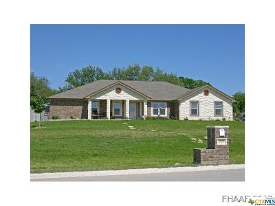 Copperas Cove Single Family Home For Sale: 3602 Big Divide