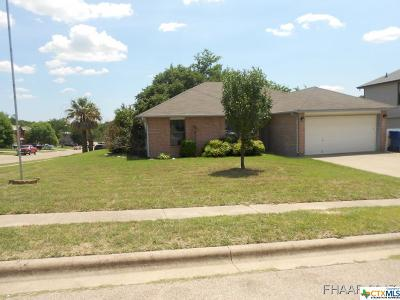 Copperas Cove Single Family Home For Sale: 402 Dillon Drive