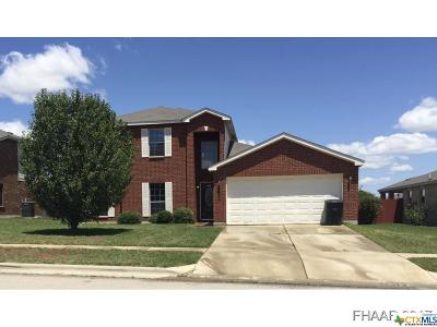 Killeen Single Family Home For Sale: 2305 Riley Drive