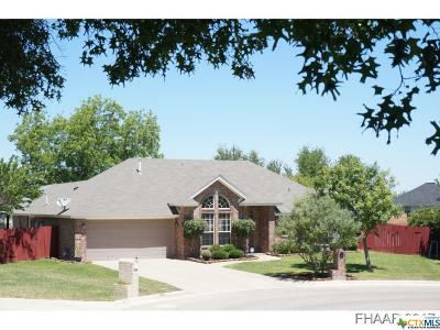 Harker Heights Single Family Home For Sale: 704 Bluebonnet Circle