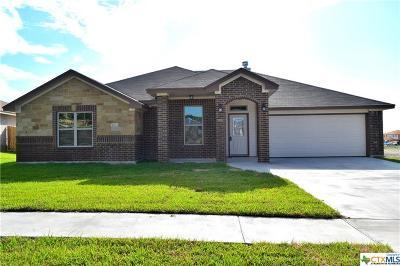 Copperas Cove Single Family Home For Sale: 1013 Republic Circle
