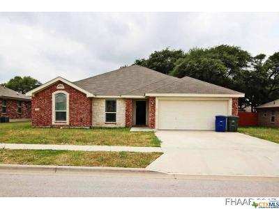 Copperas Cove Single Family Home For Sale: 3501 Dalton Street