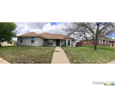 Killeen Single Family Home For Sale: 2708 Asa Drive