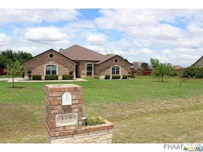 Copperas Cove Single Family Home For Sale: 118 Coleton Drive
