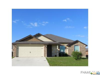 Killeen TX Single Family Home For Sale: $137,995