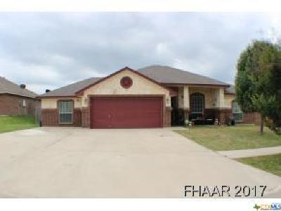 Killeen Single Family Home For Sale: 3706 Tecovas Springs Court