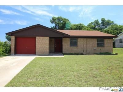 Copperas Cove Single Family Home For Sale: 930 Dryden Avenue
