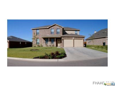 Harker Heights Single Family Home For Sale: 417 Cattail Circle